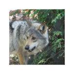 Impresión de acecho de la lona del lobo lienzo envuelto para galerías