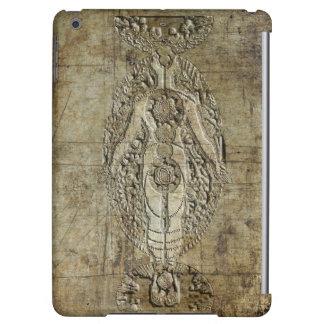 Impresión de acero antigua del Glyph de Chakra