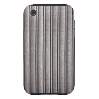 Impresión de acero falsa de la armadura iPhone 3 tough protectores
