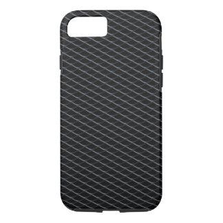 Impresión de adaptación de la parrilla del carbón funda iPhone 7