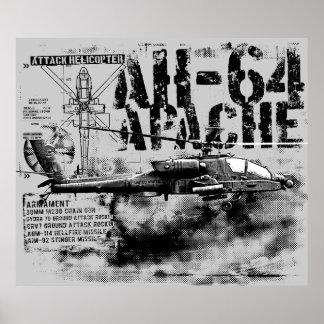 Impresión de AH-64 Apache