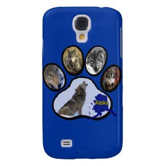 Impresión de Alaska de la pata del lobo Carcasa Para Galaxy S4