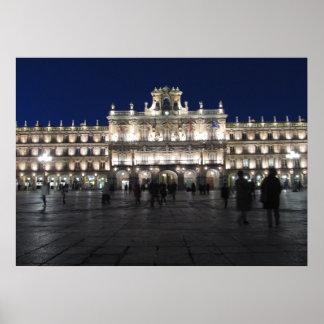 Impresión de alcalde Madrid España de la plaza Impresiones