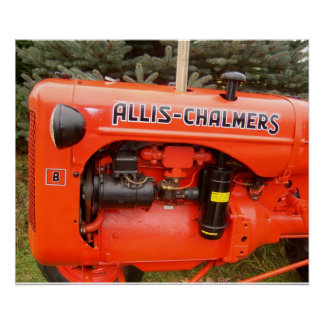 Impresión de Allis-Chalmers del vintage Impresiones