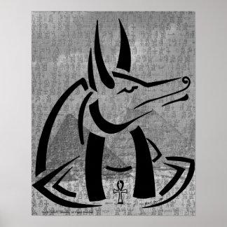 Impresión de Anubis Póster