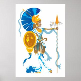 Impresión de Athena Póster