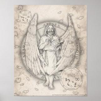 Impresión de Azrael del arcángel Póster