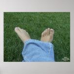 Impresión de Barefootin Impresiones