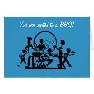 Impresión de BBQ Picnic Felicitación