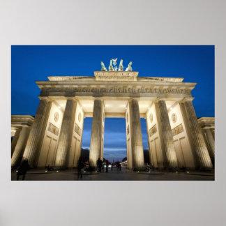 Impresión de Brandeburgo Puerta-Berlín Impresiones