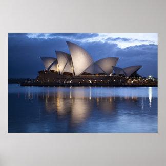 Impresión de Casa-Australia de la ópera de Sydney Impresiones