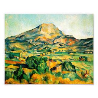Impresión de Cezanne Mont Sainte-Victoire Cojinete