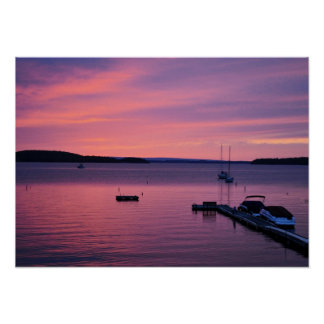 Impresión de Champlain del lago Impresiones