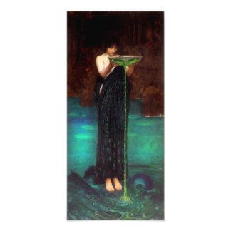 Impresión de Circe Invidiosa del Waterhouse Foto