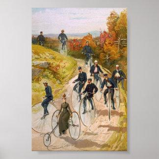 Impresión de color de las ruedas grandes 1897