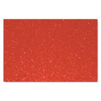 Impresión de color rojo oscuro suave del brillo papel de seda pequeño