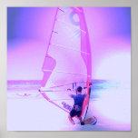 Impresión de color Windsurfing Posters