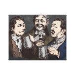 Impresión de consumición de la lona del trío de la impresion de lienzo