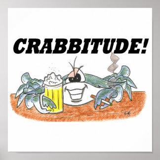Impresión de Crabbitude Póster