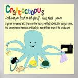 Impresión de Craftoctopus Poster
