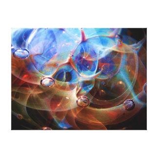 Impresión de cristal de la galaxia de la nebulosa  impresión en lona