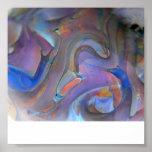 Impresión de cristal de la pared del arte del post impresiones