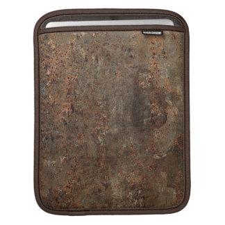 Impresión de cuero sucia vieja fundas para iPads