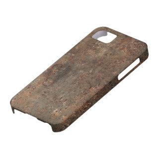Impresión de cuero vieja iPhone 5 fundas