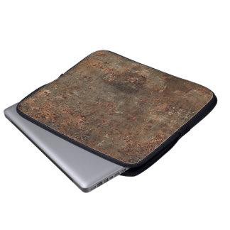 Impresión de cuero vieja manga computadora