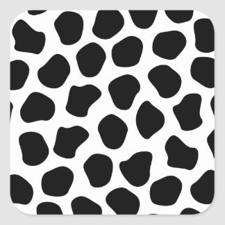 Impresión de Dalmation Pegatinas Cuadradas