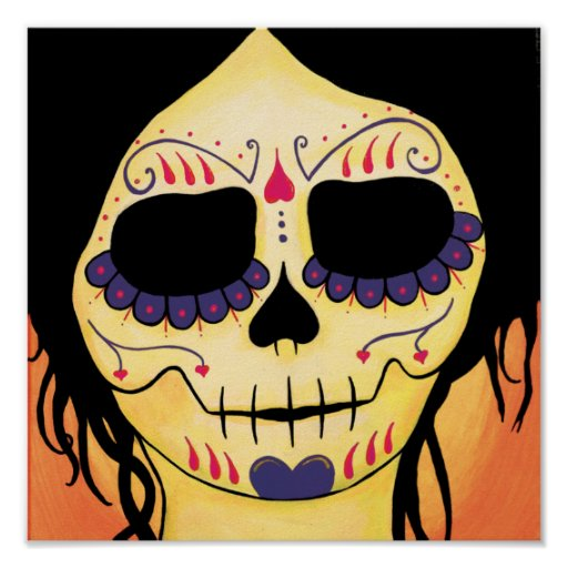 Impresión de Dia de los Muertos Skeletons Emma Impresiones