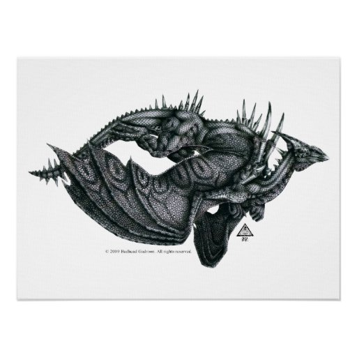 Impresión de Dragongiant Poster