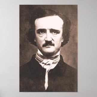 Impresión de Edgar Allan Poe Poster