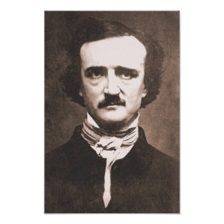 Impresión de Edgar Allan Poe Póster