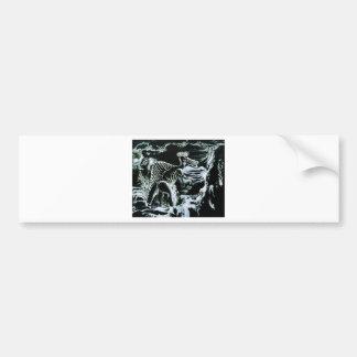 ¡Impresión de encargo de Deinos Sauros-! Pegatina Para Auto