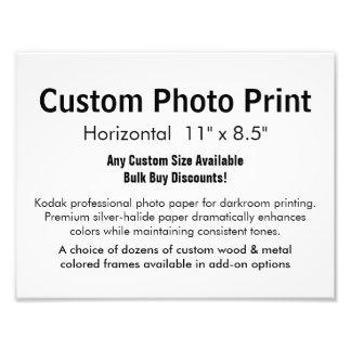 """Impresión de encargo de la foto - 11"""" horizontal x fotografía"""