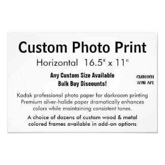 """Impresión de encargo de la foto - 16,5"""" x fotografías"""