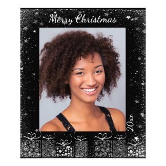 Impresión de encargo de la foto del navidad con fotografía