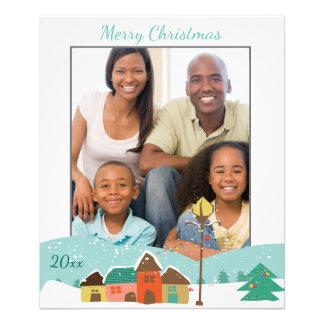 Impresión de encargo de la foto del navidad con fotografías