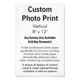 """Impresión de encargo de la foto - vertical 8"""" X12 Cojinete"""
