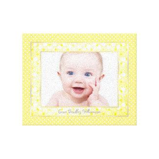 Impresión de encargo de la lona de la foto del beb impresión en lona