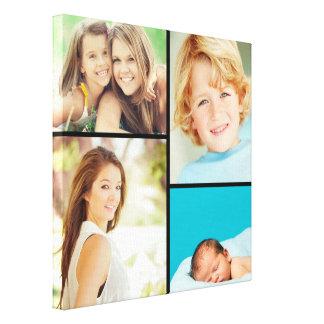 Impresión de encargo de la lona del collage de la  impresión de lienzo
