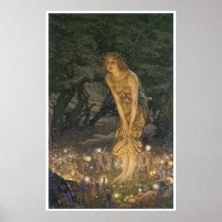 Impresión de Eve de pleno verano de Eward Roberto  Posters