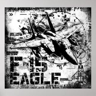 Impresión de F-15 Eagle Póster