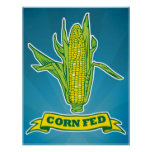 Impresión de FED del maíz Impresiones
