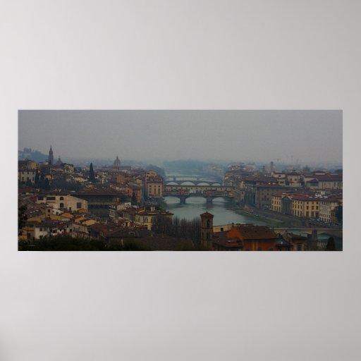 Impresión de Firenze Italia Póster