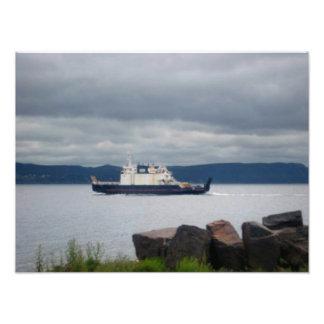 Impresión de Flandes del transbordador de la isla  Fotografía