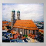 Impresión de Frauenkirche Poster