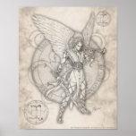 Impresión de Gabriel del arcángel Posters