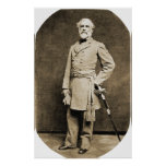 Impresión de general Roberto E. Lee en 1863
